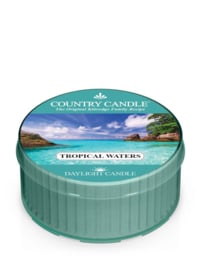 Tropical Waters Country Candle   Daylight