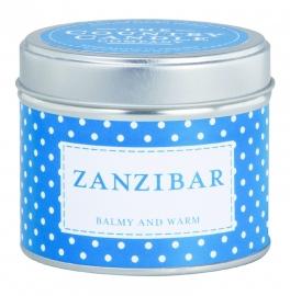 Zanzibar The Country Candle Sojawax Geurkaars