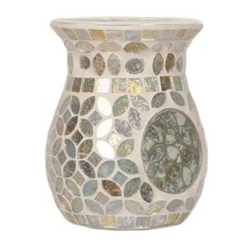 Smokey Gold Mosaic Wax Melt Burner