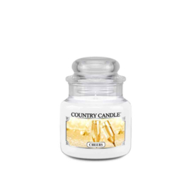 Cheers Country Candle Mini Jar 30 Branduren