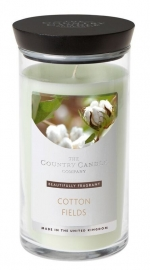 Cottonfield  Country Candle Medium jar
