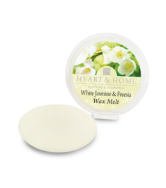 White Jasmine and Freesia Heart & Home Waxmelt