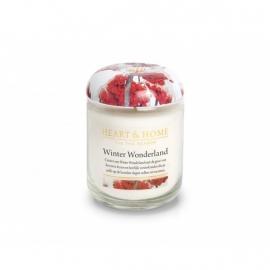 Winter Wonderland Heart & Home small Jar