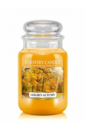 Golden Autumn Country Candle Large Jar 150 Branduren
