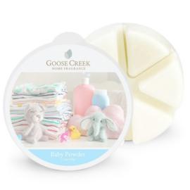 Baby Powder Goose Creek 1 Waxmelt blokje 8-10-Branduren