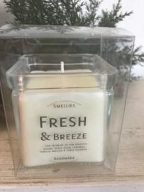 Fresh & Breeze  Smellies geurkaars  50 Branduren
