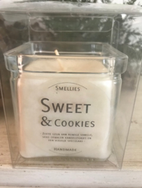 Sweet & Cookies  Smellies geurkaars  50 Branduren