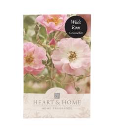 Wilde Roos Heart & Home Geurzakje