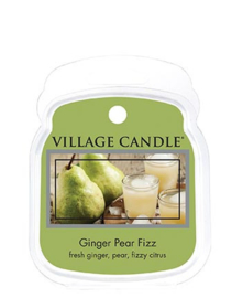 Ginger Pear Fizz Village Candle  1 Waxmelt Blokje