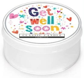 Get Well Soon  Classic Candle  MiniLight