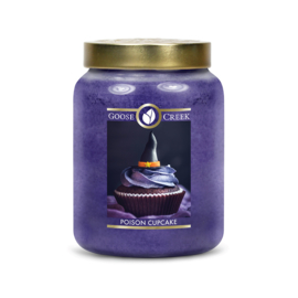 Poison Cupcake Goose Creek Halloween  Candle