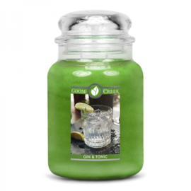 Gin & Tonic Goose Creek Candle  24oz Large Jar