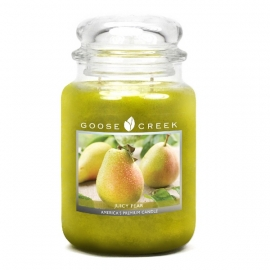 Juicy Pear  Goose Creek Candle  150 Branduren