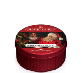 Jingle All the Way Country Candle  Daylight