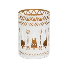 White Trees Petite Candle Holder WoodWick