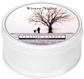 Winters Night  Classic Candle MiniLight
