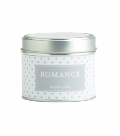Romance Candle The Country Candle Sojawax Geurkaars