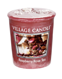 Raspberry Rose Tea Village Candle Premium (61g) Votive