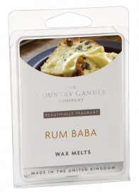 Rum Baba  The Country Candle Company Waxmelt