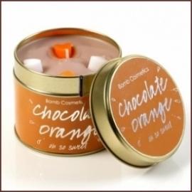 Chocolate Orange Bomb Cosmetics Geurkaars