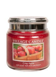 Crisp Apple Village Candle  Medium  105 Branduren