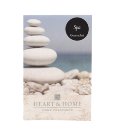 Spa Heart & Home Geurzakje