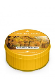 Golden Autumn Country Candle  Daylight