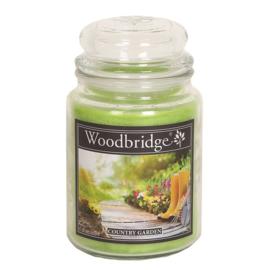 Country Garden  Woodbridge Apothecary Scented Jar  130 geururen