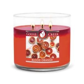 Blood Orange Goose Creek Candle Soy Blend 3 Wick   Geurkaars