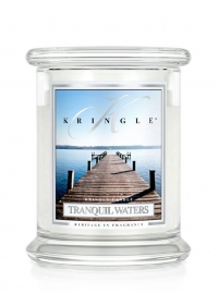 Tranquil Waters  Kringle Candle 14,5oz Medium Jar  (2 Lonten)