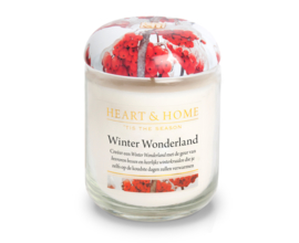 Winter Wonderland Heart & Home Large Jar