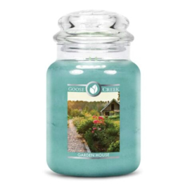 Garden House Goose Creek Candle Large Jar 150 Branduren