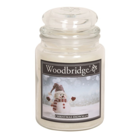 Christmas Snowman Woodbridge Apothecary Scented Jar  130 geururen