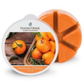 Clementine & Mango Goose Creek  1 Waxmelt blokje