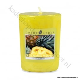 Exhilarating Pineapple Goose Creek Candle Votive Geurkaars