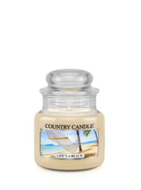 "Life""s A Beach Country Candle Mini Jar 30 Branduren"