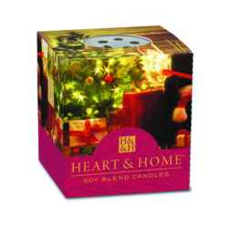 Liefdevolle Kerst  Heart & Home Votive Geurkaars 52 gram