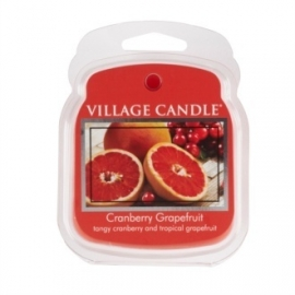 Cranberry Grapefruit Village   1Wax Meltblokje