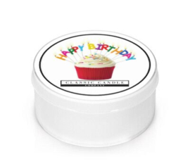 Happy Birthday  Classic Candle  MiniLight
