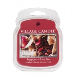 Raspberry Rose Tea Village Candle Wax Melt 1 Blokje