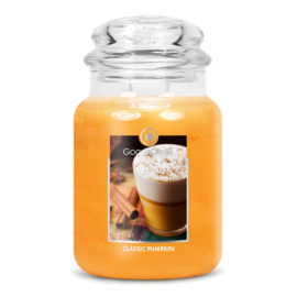 Classic Pumpkin Goose Creek Geurkaars Large Jar 150 Geururen