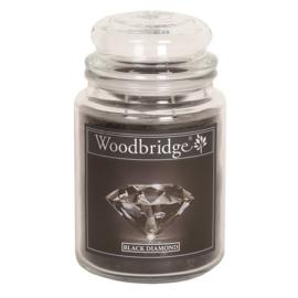 Black Diamond  Woodbridge Apothecary Scented Jar  130 geururen