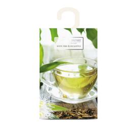 Witte thee & Eucalyptus  Heart & Home  Geurzakje
