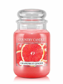 Grapefruit Ginger Country Candle Large Jar 150 Branduren