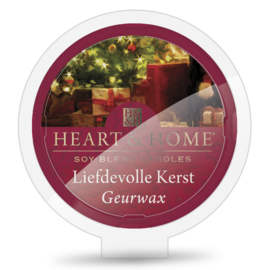 Liefdevolle Kerst Heart & Home Waxmelt