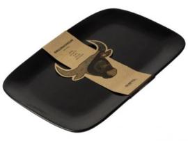BBQ bord - Grillin'& Chillin'29,5x19cm zwart