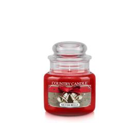 Silver Bells Country Candle Mini Jar 30 Branduren