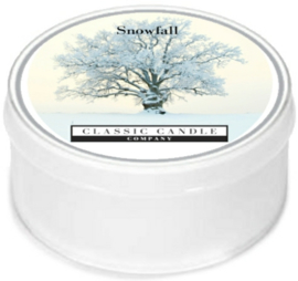 Snow fall  Classic Candle MiniLight
