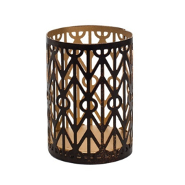 Geometric Petite WoodWick Candle Holde