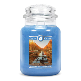 Autumn In Amsterdam Goose Creek Candle  Large Jar  150 Geururen